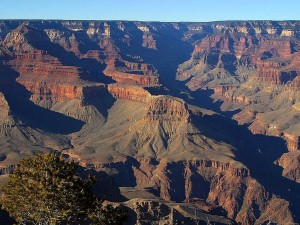 grand, canyons, overlook