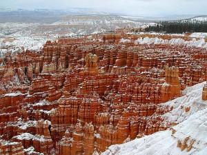 invierno, Bryce, Cañón