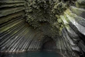 grotte, basalte, formation