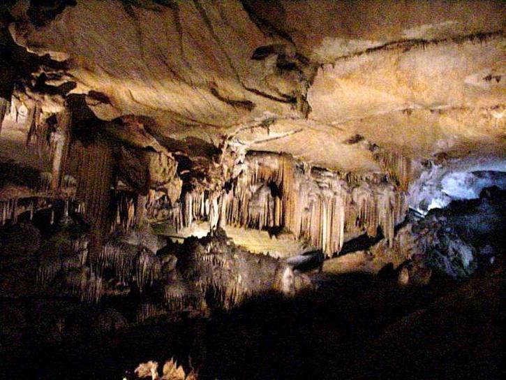 křišťál, jeskyně, tmavé