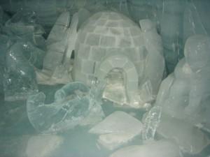 ice, cave