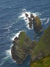 cliffs, ireland, nature
