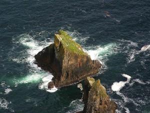 cliffs, landscape