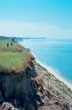 erosione, mare, scogliere