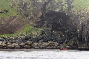 loisirs, bateau, voiture, falaises