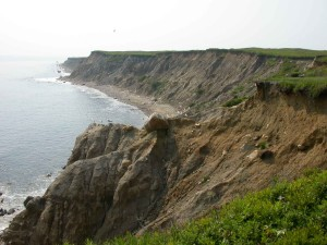Bluffs, coasta, nu, insula, nantucket