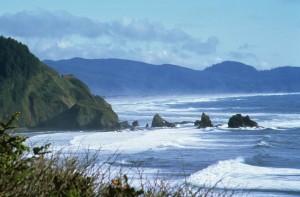 coastline, windy, day
