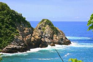 huatulco, coastline
