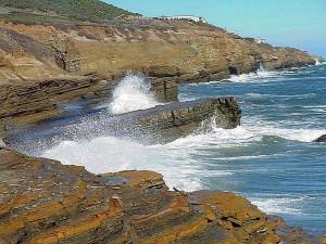 ocean, waves, coast