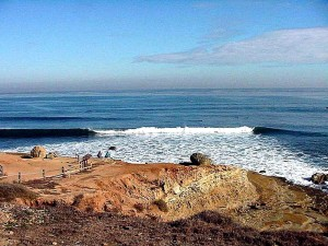 Point, Loma, vagues