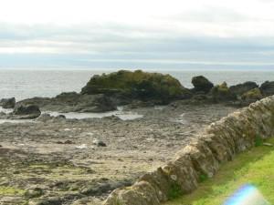 rock, shore
