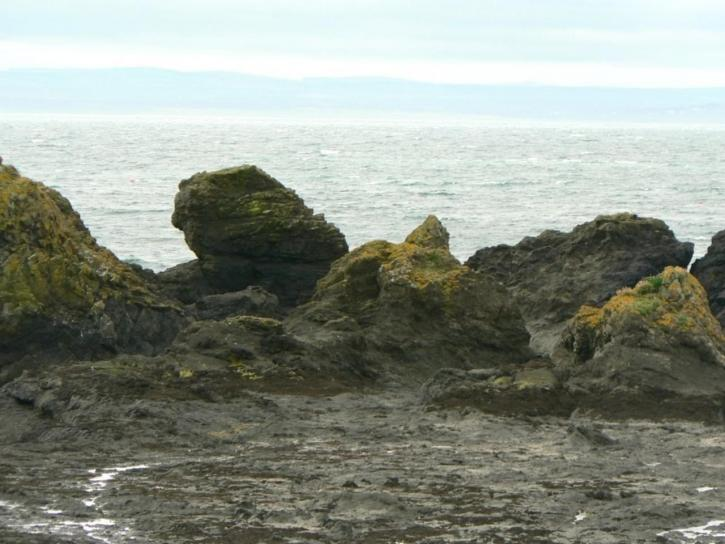 roche, rivage, coût