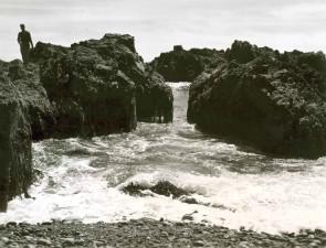 rocks, water, island, shoreline