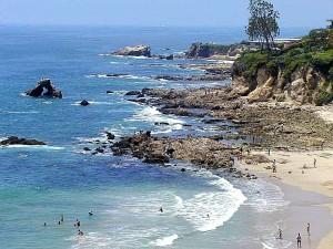 sand, ocean, tidepools, sea, swimming, swimmers, waves