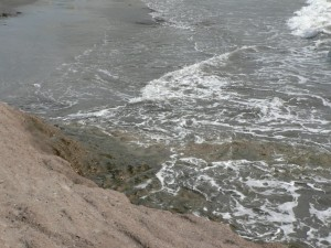 shore, brown, rock, sand