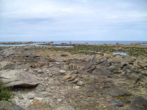 French coast, plouguerneau, landscape