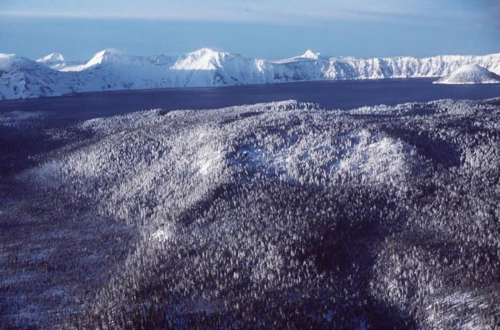 κρατήρας, λίμνη, λίμνη κρατήρας, εθνικό πάρκο, Όρεγκον