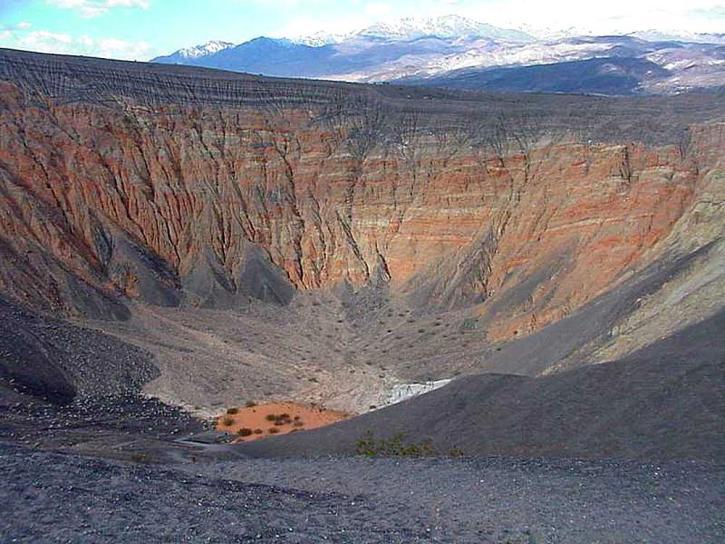 έρημος, κοιλάδα του θανάτου, ubehebe, κρατήρα