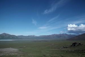 Arctique, rivière, cours d'eau