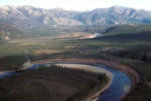 ruisseau, scénique, rivière, paysage