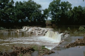 barrage, redland, ruisseau, Tennessee