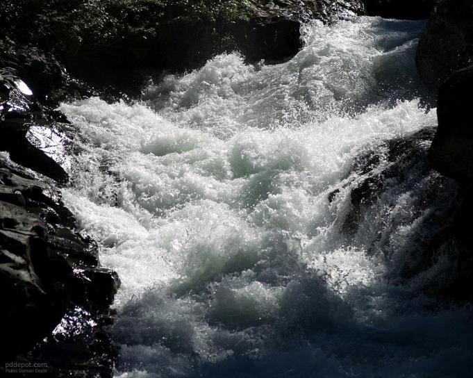 fast, creek