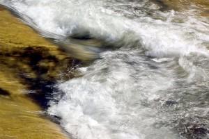 rapide, eau, ruisseau