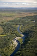 henshew, ruisseau, Kanuti, parc national