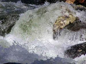 roche, eau, ruisseau