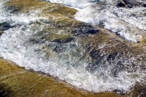 eau, colline