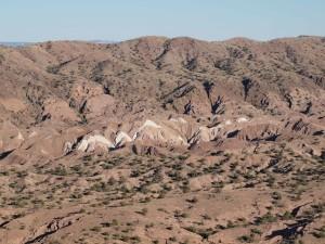 distante, ad ovest, Mesa, Messico