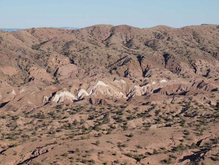 distant, west, Mesa, Mexico