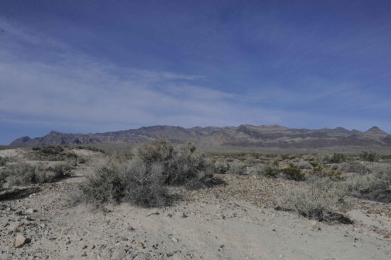 scénické, pozemky, púšť