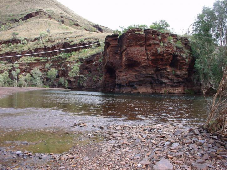 Creek, púšť