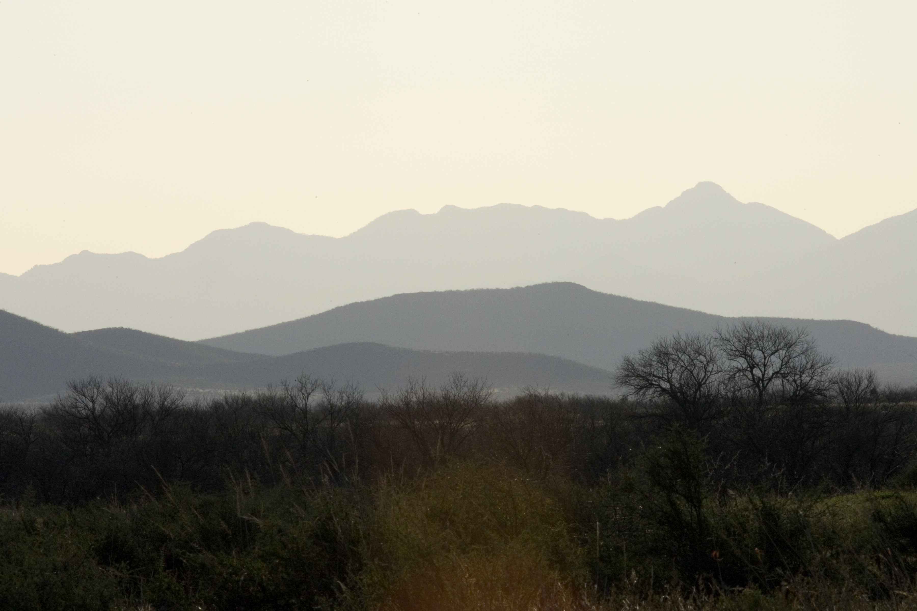 Free picture: desert, scenery, mountains, background