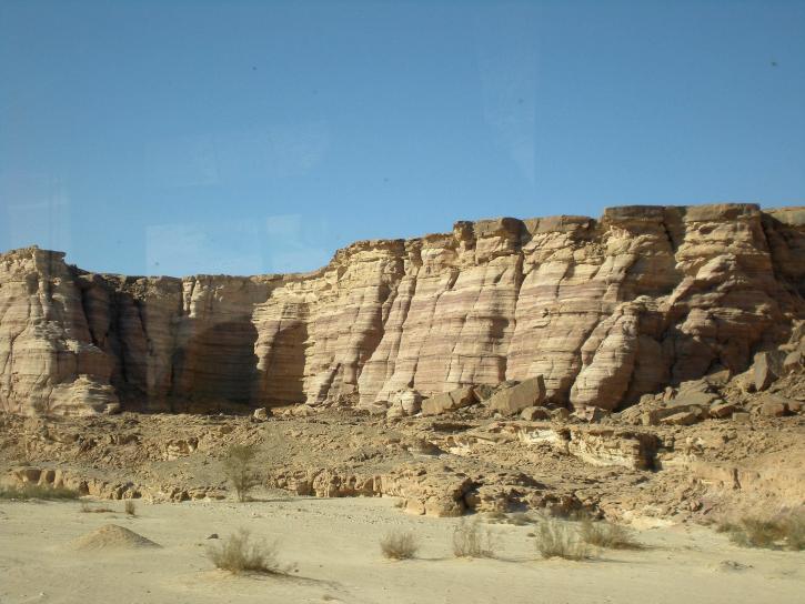 rochers, désert