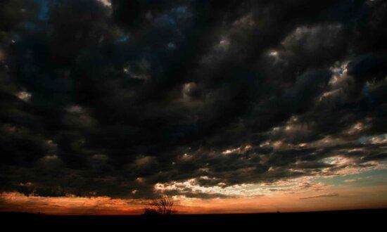 hämmästyttävää, tumma, musta, sky, taivas,