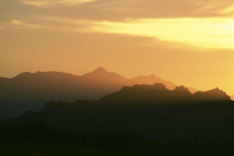 Free Picture: Desert, Sky, Scene, Dusk
