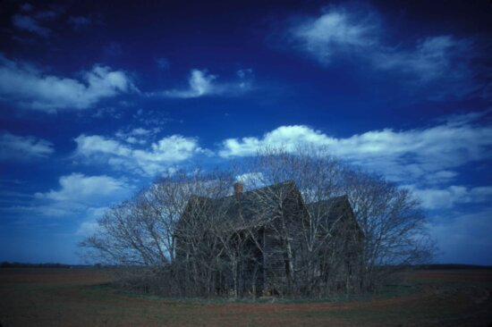 farmhouse, coastal, plains, dusk