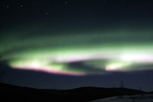 night, landscape, northern lights, scenic, aurora, borealis
