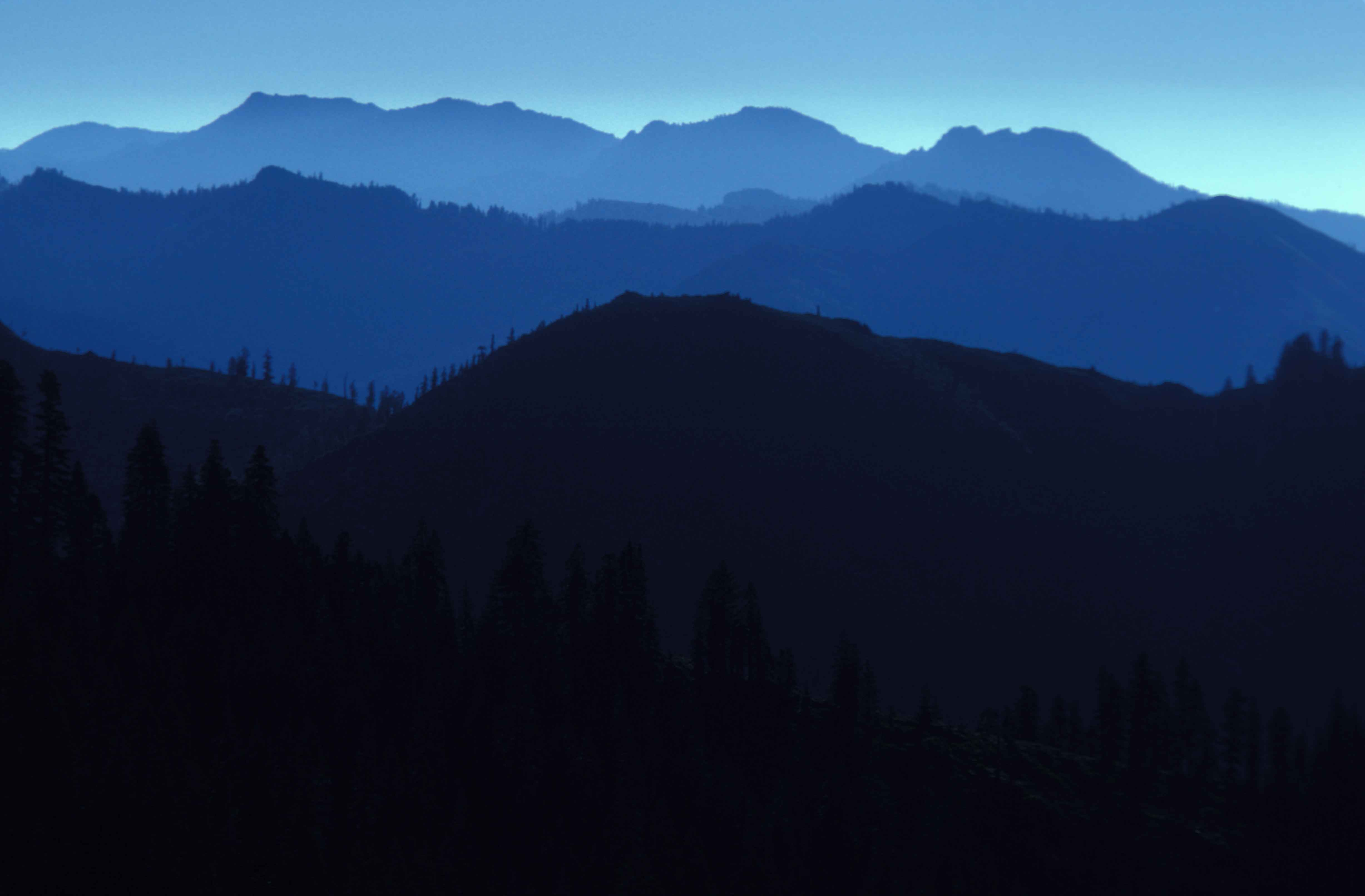 Free Picture Mountains Silhouette Marble Mountain