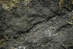 akun, colonnaire, le basalte, la formation