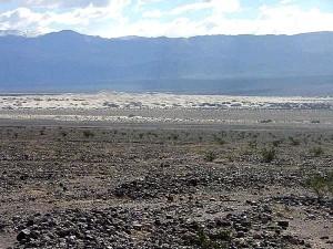 désert, la mort, vallée, sable, dunes