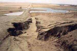 Erosion, Erde