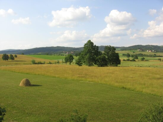 central, Serbia, mountain, fields