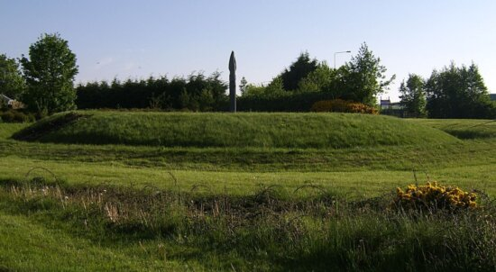 ailinne, monument, field