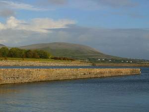 Irlanda, tramonto, landcape