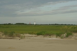 lighthouses, field