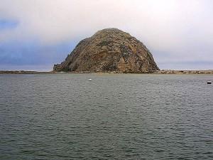 Moro, roccia, baia, oceano, nuvole, nebbia
