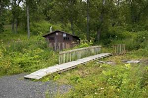 레크리에이션, 오두막, 숲